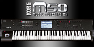 Korg M50: How to assign a knob to control effect levels - Karma-Lab